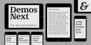Demos Next font download