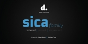 Sica Condensed font download