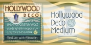 Hollywood Deco SG font download