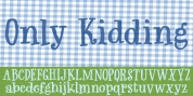 Only Kidding font download