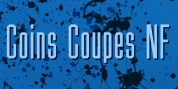 Coins Coupes NF font download