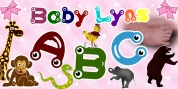 Baby Lyns ABC font download