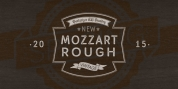 Mozzart Rough font download