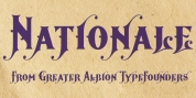 Nationale font download