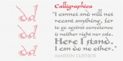 Calligraphica font download