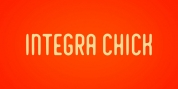 Integra Chic font download