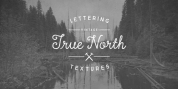 True North Textures font download