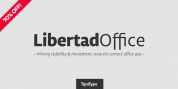 Libertad Office font download