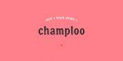 Champloo font download
