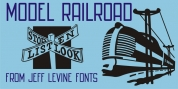 Model Railroad JNL font download