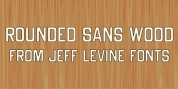 Rounded Sans Wood JNL font download