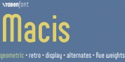 Macis font download