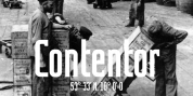 Contentor font download