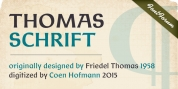 Thomas Schrift font download