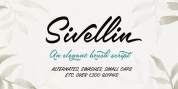 Sivellin font download