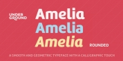 Amelia Rounded font download