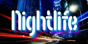 Nightlife font download
