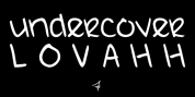 UndercoverLOVAHH font download