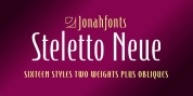 Steletto Neue font download