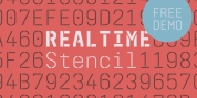 Realtime Stencil font download