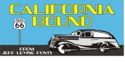 California Bound JNL font download