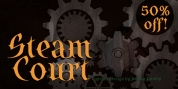 SteamCourt font download