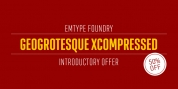 Geogrotesque Extra Compressed font download