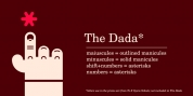 The Dada font download