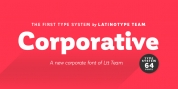 Corporative font download