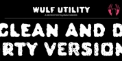 Wulf Utility font download