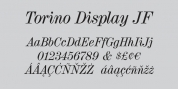 Torino Display JF Pro font download