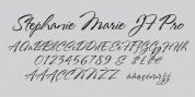Stephanie Marie JF Pro font download