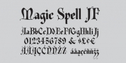 Magic Spell JF font download