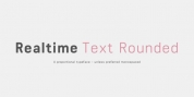 Realtime Text Rounded font download