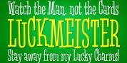 Luckmeister PB font download
