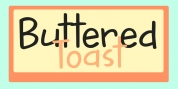 Buttered Toast font download