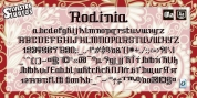 Rodinia font download