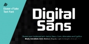 Digital Sans Now font download