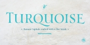 Turquoise font download