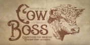 Cow Boss font download