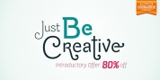 Be Creative font download