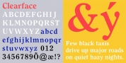Monotype Clearface font download