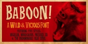 Baboon font download