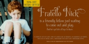 Fratello Nick font download