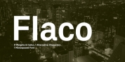Flaco font download