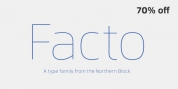 Facto font download