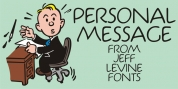 Personal Message JNL font download