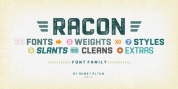Racon font download