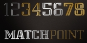 Matchpoint font download