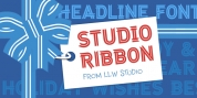 Studio Ribbon font download